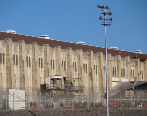 Recreation yard at San Quentin Prison 2013 Waldemar Zboralsk