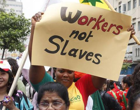 Migrant domestic workers
