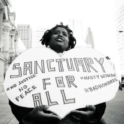 Expand sanctuary convening in Philadelphia. ©2017 Steve Pavey